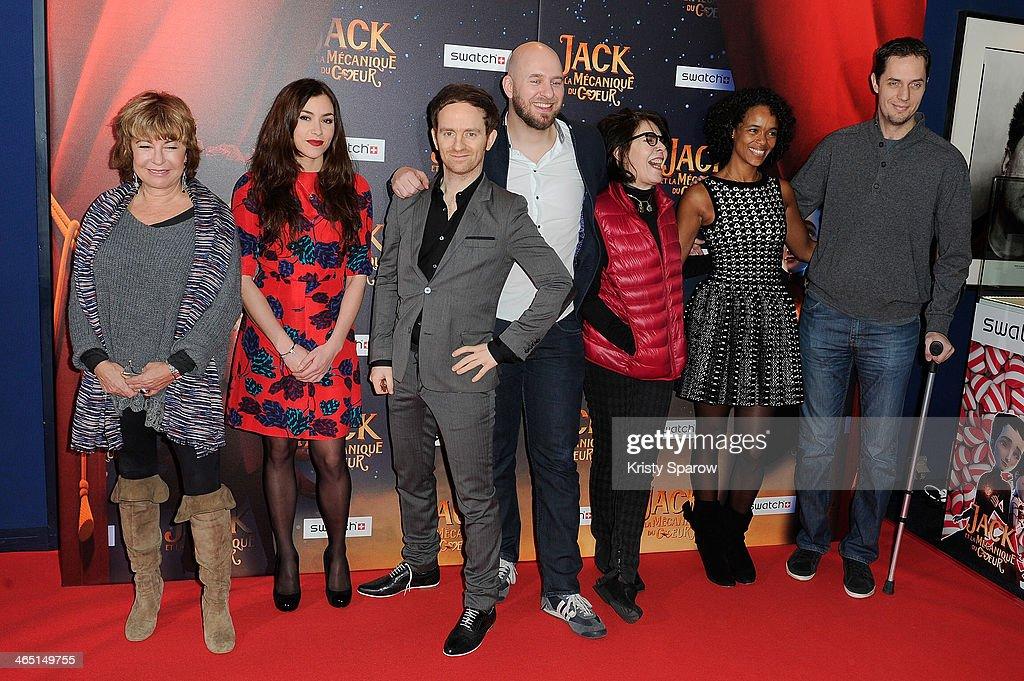 'Jack Et La Mecanique Du Coeur' Paris Premiere At UGC Normandy