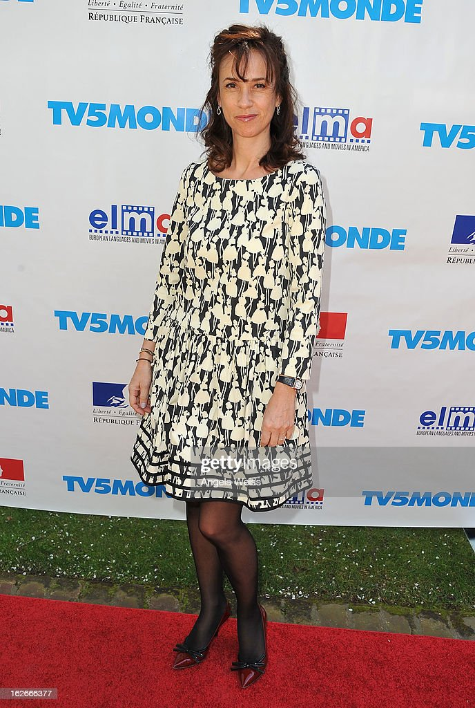 Marie Zamora attends an event hosted by the Consul General Of France, Mr. Axel Cruau, honoring the French nominees for the 85th Annual Academy Awards at French Consulate's Home on February 25, 2013 in Beverly Hills, California.