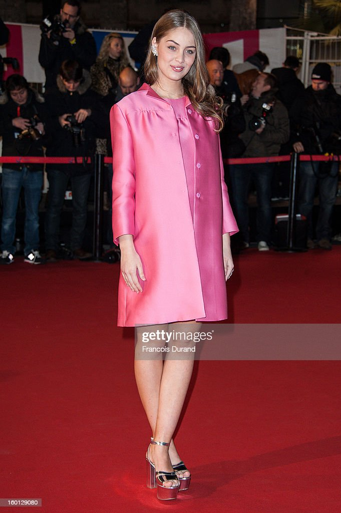 Marie-Ange Casta attends the NRJ Music Awards 2013 at Palais des Festivals on January 26, 2013 in Cannes, France.