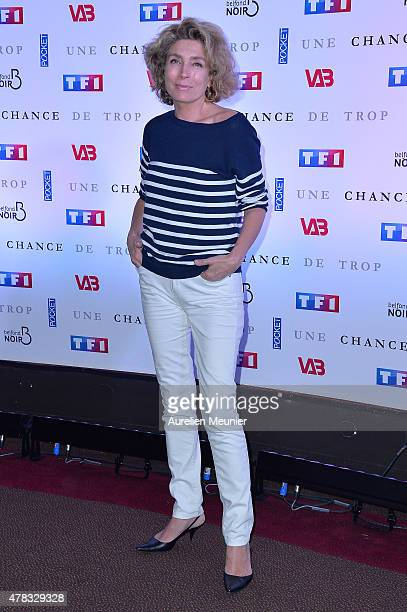 MarieAnge Nardi attends the 'Une Chance de Trop' Paris premiere at Cinema Gaumont Marignan on June 24 2015 in Paris France