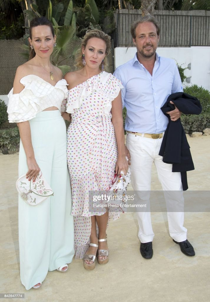 Marie-Gabrielle of Nassau, from The Grand Ducal Family of Luxembourg, is seen having dinner the day before the wedding of Marie-Gabrielle of Nassau, on September 1, 2017 in Marbella, Spain.