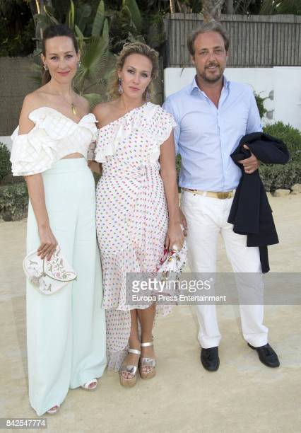 MarieGabrielle of Nassau from The Grand Ducal Family of Luxembourg is seen having dinner the day before the wedding of MarieGabrielle of Nassau on...