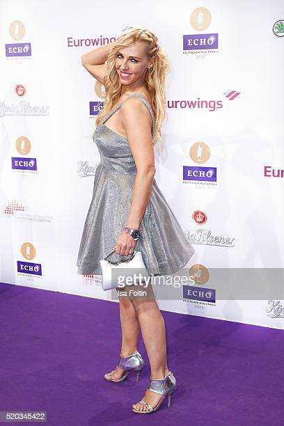 MarieJose van der Kolk of the band Loona attends the Echo Award 2016 on April 07 2016 in Berlin Germany
