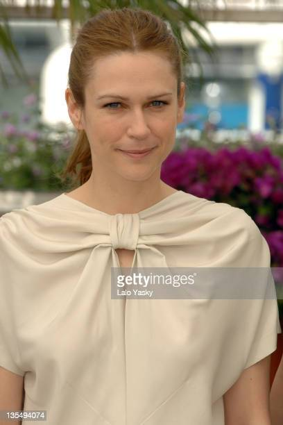 MarieJosee Croze during 2007 Cannes Film Festival 'Le Scaphandre et le Papillon' Photocall at Palais des Festivals in Cannes France