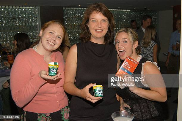 Marieke Bianchi Gabi Saure and Danielle Capogrosso attend ECLIPSE and ZAGAT SURVEY 2006 'Dare to Dine Guide' Launch Party at Morimoto on August 15...