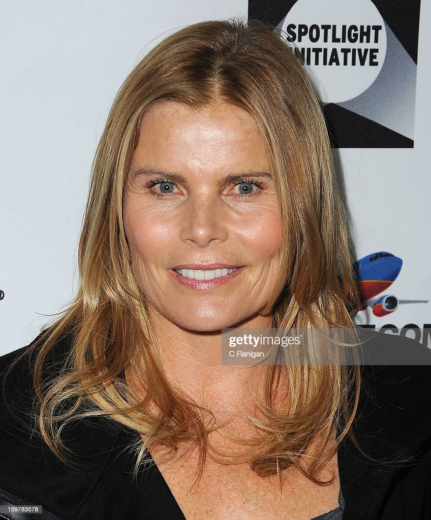 Mariel Hemingway arrives at The Creative Coalition Spotlight Initiavtive Awards Gala during the 2013 Sundance Film Festival at The Sky Lodge on January 19, 2013 in Park City, Utah.