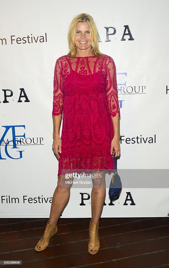 Mariel Hemingway arrives at the Premiere of 'Papa' In Havana on December 5, 2015 in Havana, Cuba.
