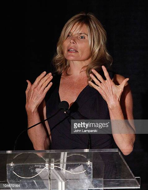 Mariel Hemingway attends the 2010 Unity in Style Fundraiser Benefiting the Giving Planet at the Metropolitan Pavilion on October 2 2010 in New York...