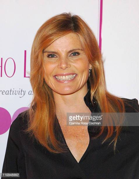Mariel Hemingway attends The Ladies Who Launch Live Networking Event at the Altman Building on October 17th 2007 in New York City New York