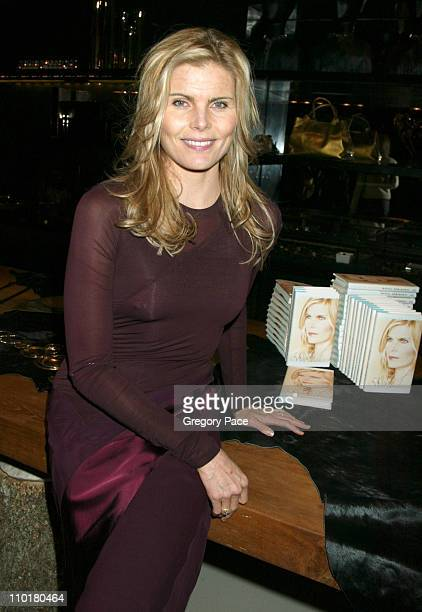 Mariel Hemingway in Donna Karan during Mariel Hemingway's Book Launch Party for 'Finding My Balance A Memoir' at Donna Karan store in New York City...