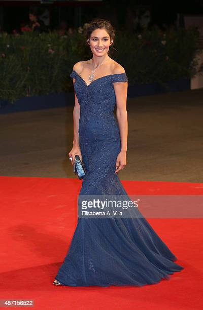 Mariela Garriga attends a premiere for 'El Clan' during the 72nd Venice Film Festival at on September 6 2015 in Venice Italy