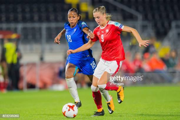 MarieLaure Delie of France women AnaMaria Crnogorcevic of Switzerland women during the UEFA WEURO 2017 Group C group stage match between Switzerland...