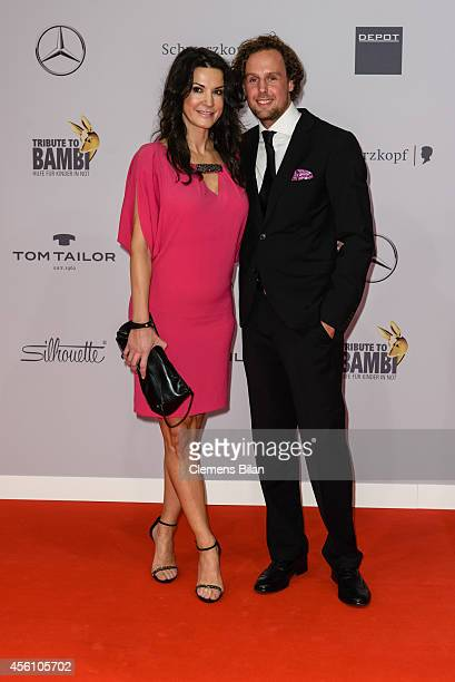 Mariella Ahrens and Marc Sebastian Esser attend the Tribute To Bambi 2014 at Station on September 25 2014 in Berlin Germany
