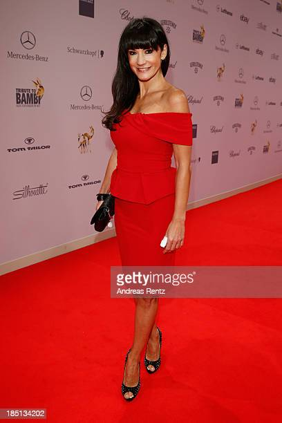 Mariella Ahrens arrives at Tribute To Bambi at Station on October 17 2013 in Berlin Germany