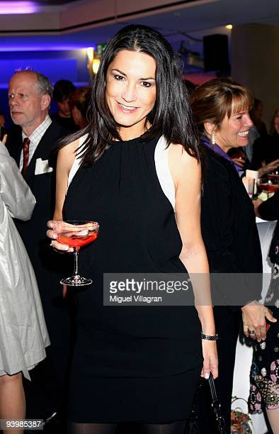 Mariella Ahrens attends the 'ARD Advent Dinner' on December 4 2009 in Munich Germany