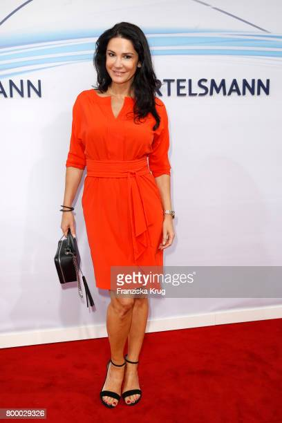 Mariella Ahrens attends the 'Bertelsmann Summer Party' at Bertelsmann Repraesentanz on June 22 2017 in Berlin Germany