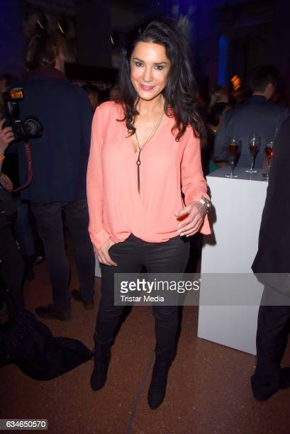 Mariella Ahrens attends the Blue Hour Reception hosted by ARD during the 67th Berlinale International Film Festival Berlin on February 10 2017 in...