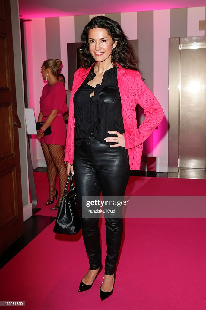 Mariella Ahrens attends the JT Touristik Celebrates ITB Party on March 05 2015 in Berlin Germany