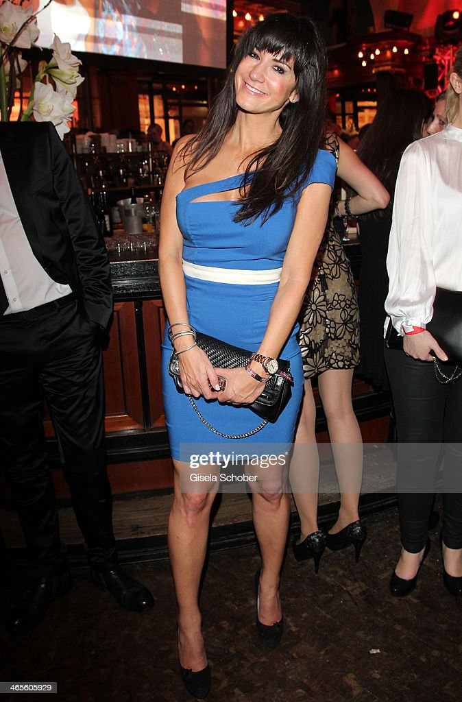 Mariella Ahrens attends the Lambertz Monday Night at Alter Wartesaal on January 27, 2014 in Cologne, Germany.