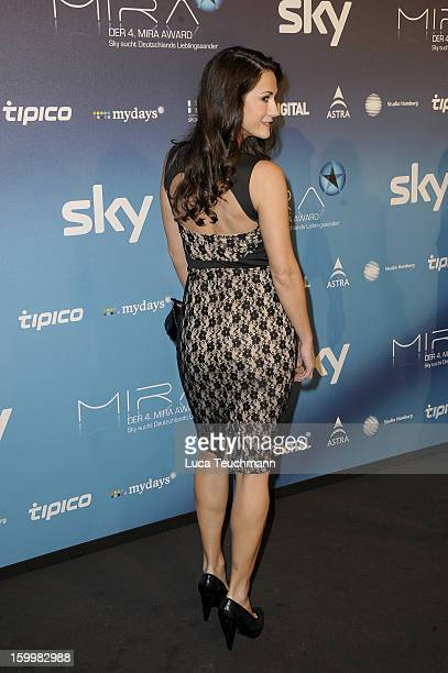 Mariella Ahrens attends the Mira Award 2013 at Station on January 24 2013 in Berlin Germany
