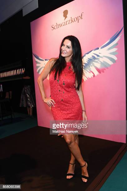 Mariella Ahrens attends the Tribute To Bambi after show party at Station on October 5 2017 in Berlin Germany