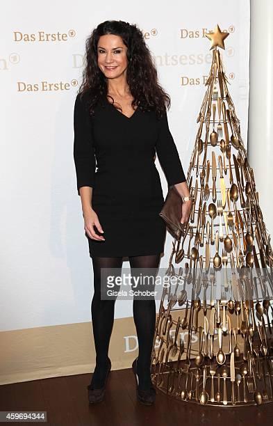 Mariella Ahrens during the ARD advent dinner hosted by the program director of the tv station Erstes Deutsches Fernsehen at Hotel Bayerischer Hof on...