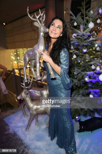 Mariella Ahrens during the DressHeaven 2017 Christmas party by 'dresscoded' at Armani Caffe on November 27 2017 in Munich Germany