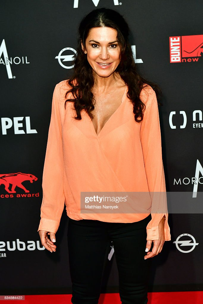 <a gi-track='captionPersonalityLinkClicked' href=/galleries/search?phrase=Mariella+Ahrens&family=editorial&specificpeople=206438 ng-click='$event.stopPropagation()'>Mariella Ahrens</a> during the New Faces Award Film 2015 at ewerk on May 26, 2016 in Berlin, Germany.