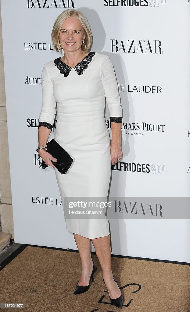 Mariella Forstrup attends the Harpers Bazaar Women of the Year awards at Claridge's Hotel on November 5, 2013 in London, England.