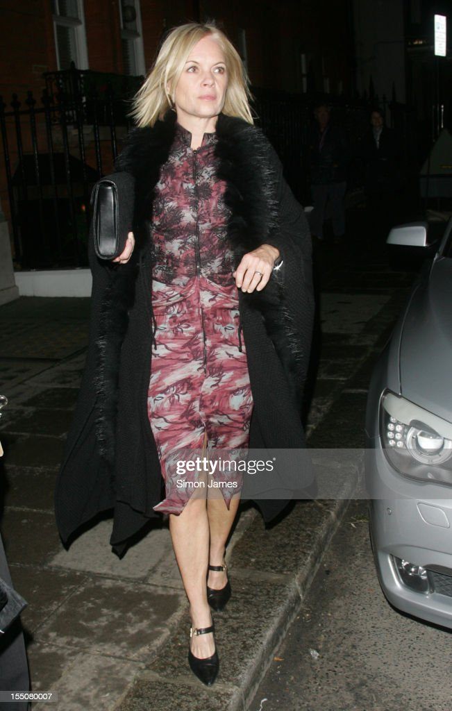 Mariella Forstrup sighting on October 31, 2012 in London, England.