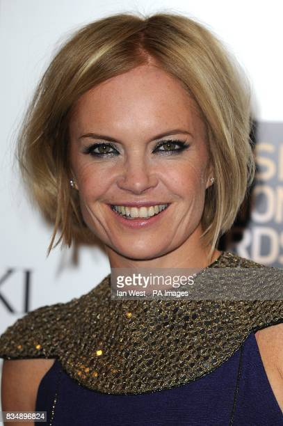 Mariella Frostrup arrives for the 2008 British Fashion Awards at the Royal Horticultural Hall 80 Vincent Square London