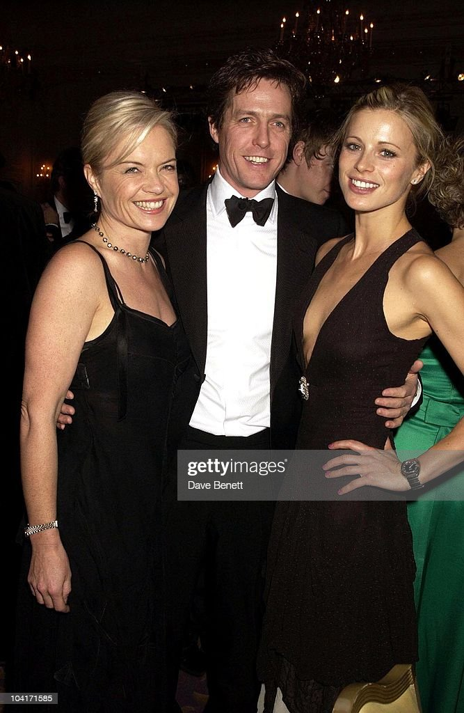 Mariella Frostrup, Hugh Grant & Laura Bailey, The Evening Standard Film Awards, At The Savoy Hotel In London