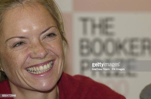 Mariella Frostrup one of the judges for the Booker Prize 2000 during a press conference held in London where the panel of judges announced the short...