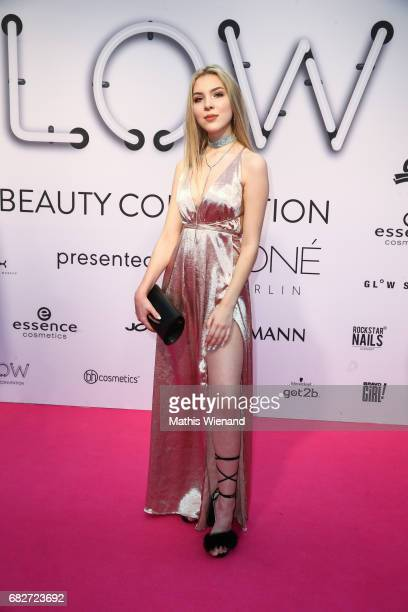 Marielle J attends the GLOW The Beauty Convention on May 13 2017 in Duesseldorf Germany