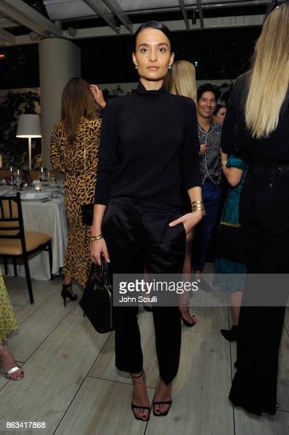 MarieLou Bartoli attends THE OUTNET x Amber Valletta at Waldorf Astoria Beverly Hills on October 19 2017 in Beverly Hills California
