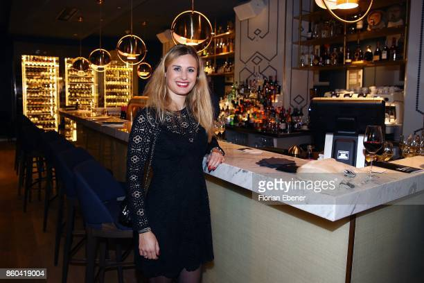 MarieLouisa Beyer attends the Housewarming Party at Andreas Quartier GmbH on October 11 2017 in Duesseldorf Germany