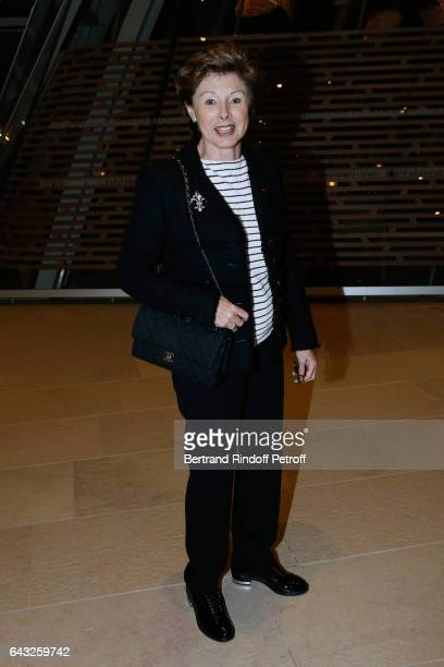 MarieLouise de Clermont Tonnerre attends the Private View of 'Icones de l'Art Moderne la Collection Chtchoukine' at Fondation Louis Vuitton on...