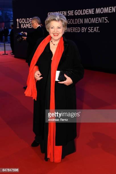 MarieLuise Marjan arrives for the Goldene Kamera on March 4 2017 in Hamburg Germany
