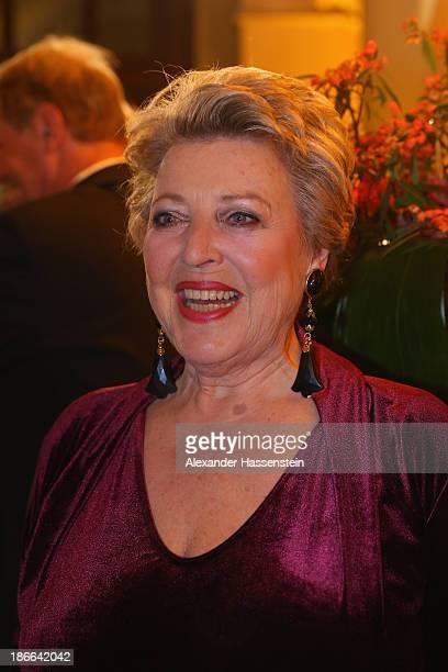 MarieLuise Marjan attends the 32 Sportpresseball at Alte Oper on November 2 2013 in Frankfurt am Main Germany
