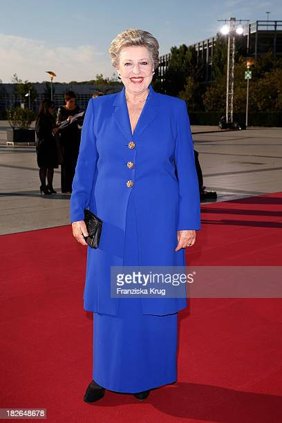 MarieLuise Marjan attends the Deutscher Fernsehpreis 2013 Red Carpet Arrivals at Coloneum on October 02 2013 in Cologne Germany
