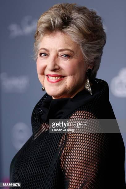 MarieLuise Marjan attends the Gloria Deutsche Kosmetikpreis at Hilton Hotel on March 31 2017 in Duesseldorf Germany