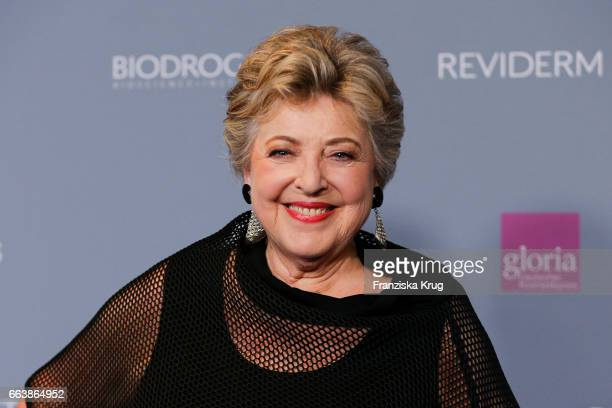 MarieLuise Marjan attends the Gloria Deutscher Kosmetikpreis at Hilton Hotel on March 31 2017 in Duesseldorf Germany
