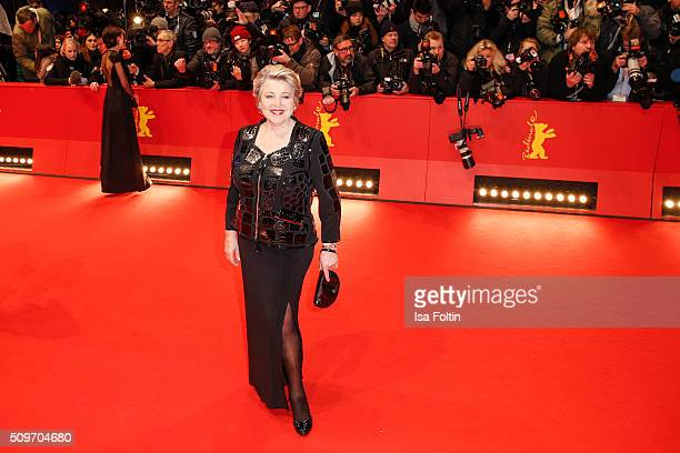MarieLuise Marjan attends the 'Hail Caesar' Premiere during the 66th Berlinale International Film Festival on February 11 2016 in Berlin Germany