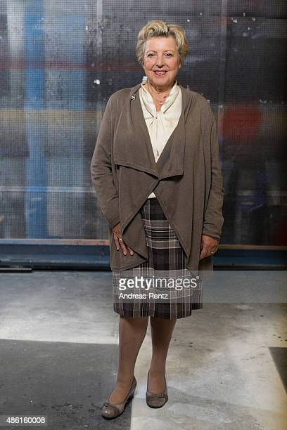 MarieLuise Marjan poses for a portrait on September 1 2015 in Cologne Germany The German soap opera 'Lindenstrasse' celebrates this year its 30th...