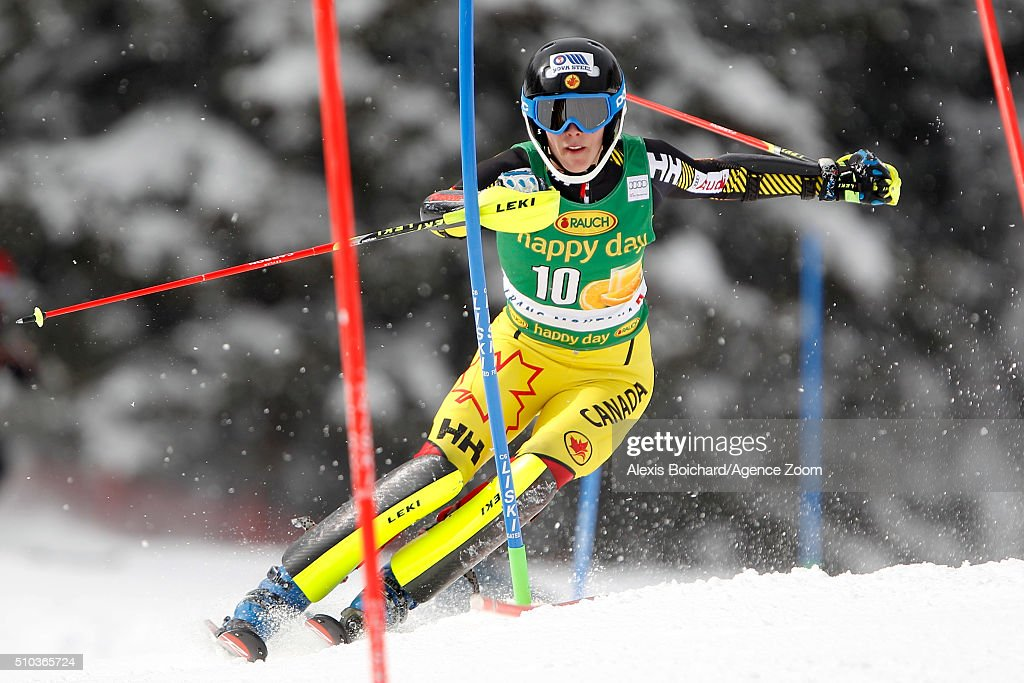 Ski world cup women s slalom on february 15 2016 in crans montana