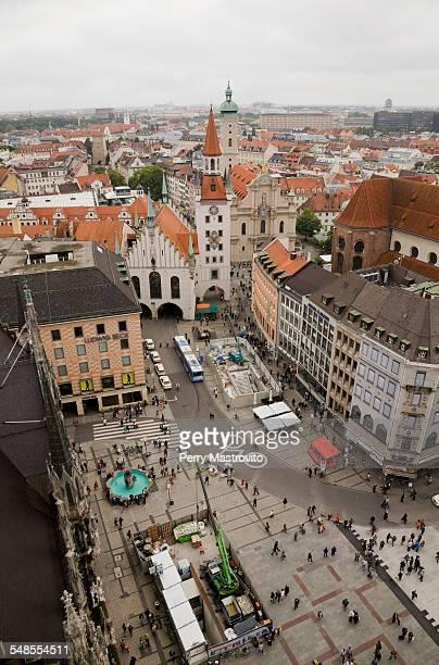 Marienplatz, Munich, Bavaria, Germany