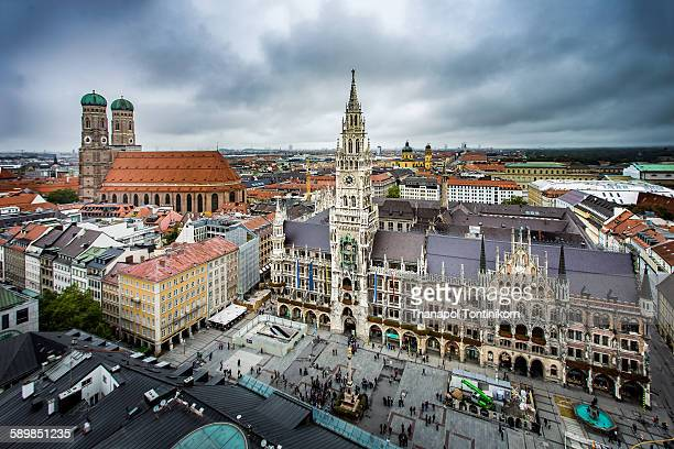 Marienplatz , Munich , Germany