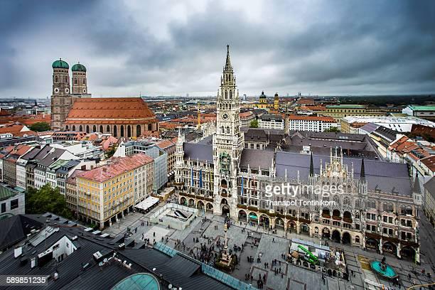 Marienplatz , Munich , Germany