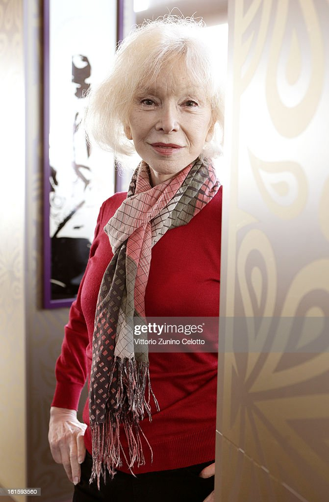 MariePierre Pruvot attends the 'Bambi' Portrait Session during the 63rd Berlinale International Film Festival at the Glashuette Lounge on February 12...