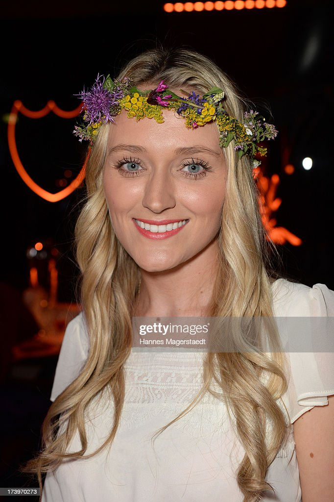 Marie-Therese Mueller attends the Verena Kerth birthday party at P1 on July 18, 2013 in Munich, Germany. Kerth also celebrated the release of the new Playboy issue with her on the cover.